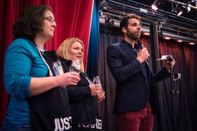 Justine Karen Mark Fife Whisky Festival 2018