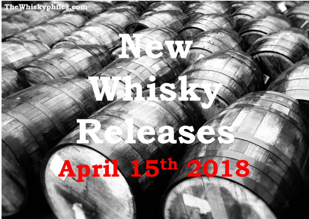 New Whisky Releases: Week 15 2018