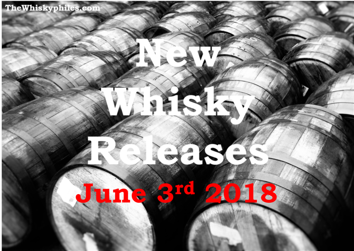New Whisky Releases: Week 22 2018