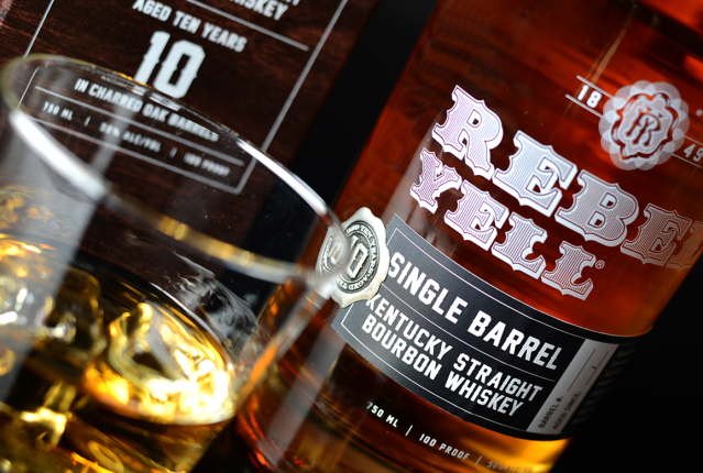 Rebel Yell 10 Year Old Single Barrel Atmos