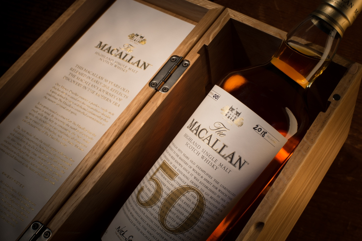 The Macallan 50 Years Old 2018 Edition released