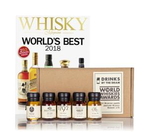 world-whiskies-awards-2018-american-whiskey-winners-tasting-set