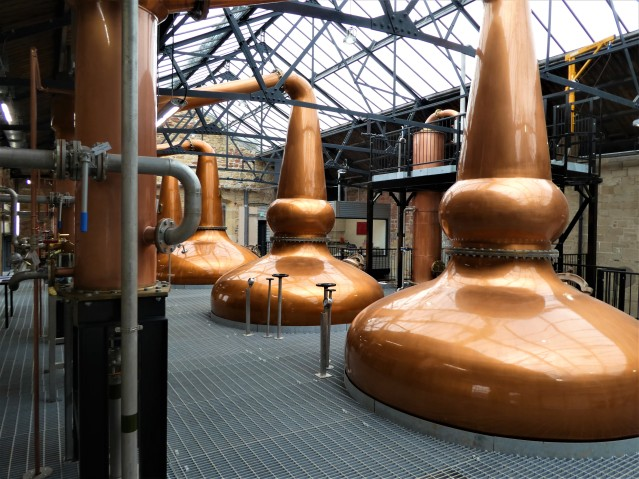 The Borders Distillery stills