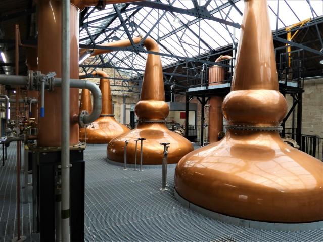 The Borders Distillery stills