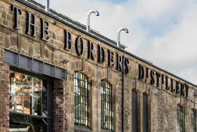 The Borders Distillery exterior