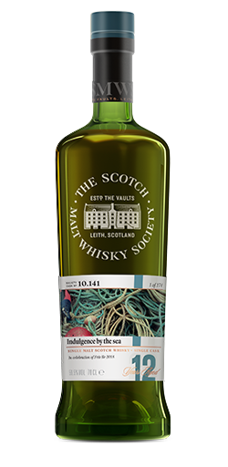 SMWS 10.141 Indulgence by the sea