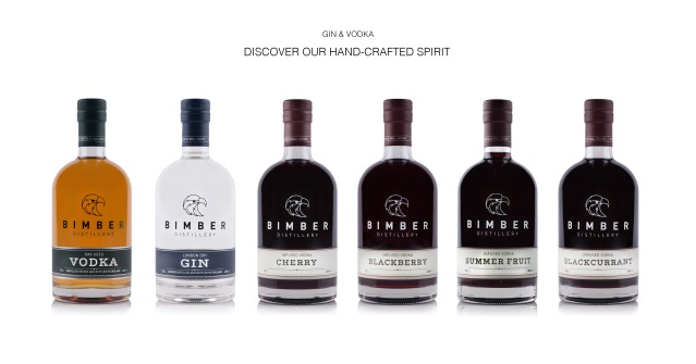 Bimber Distillery range