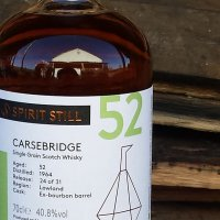 Carsebridge 52 Years Old 1964/2017 (40.8%, The Spirit Still, Bourbon Barrel, 31 Bottles)