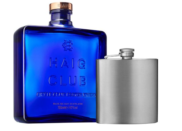 HAIG CLUB GIFT PACK HIP FLASK