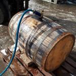 Henstone cask filling