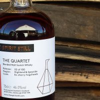 The Quartet Blended Malt Scotch Whisky (46%, The Spirit Still, 100 Bottles, 2018)