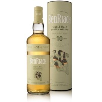 BenRiach 10 Years Old Triple Distilled (43%, OB, Travel Retail, 2018)