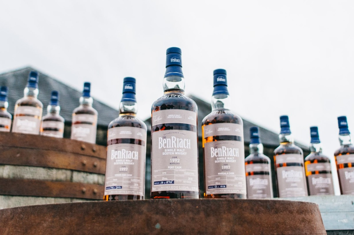 BenRiach release Batch 15 of their single cask series