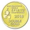 SF World Spirits Competition Medallion