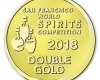 SF World Spirits Competition Medallion