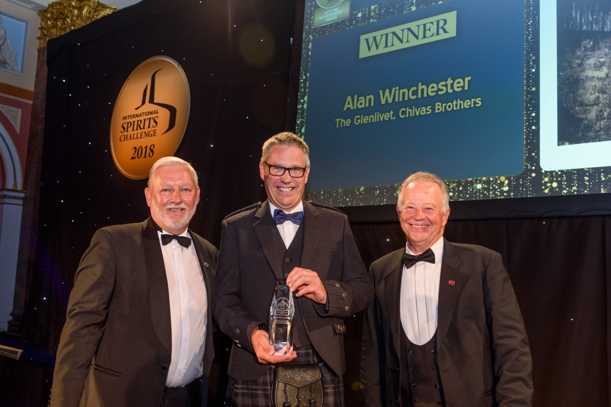 The Glenlivet Master Distiller, Alan Winchester, honoured with lifetime achievement award