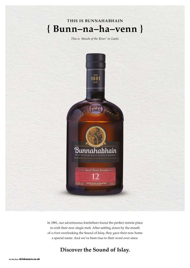 Bunnahabhain unveils the Sound Of Islay_12YO ad HR