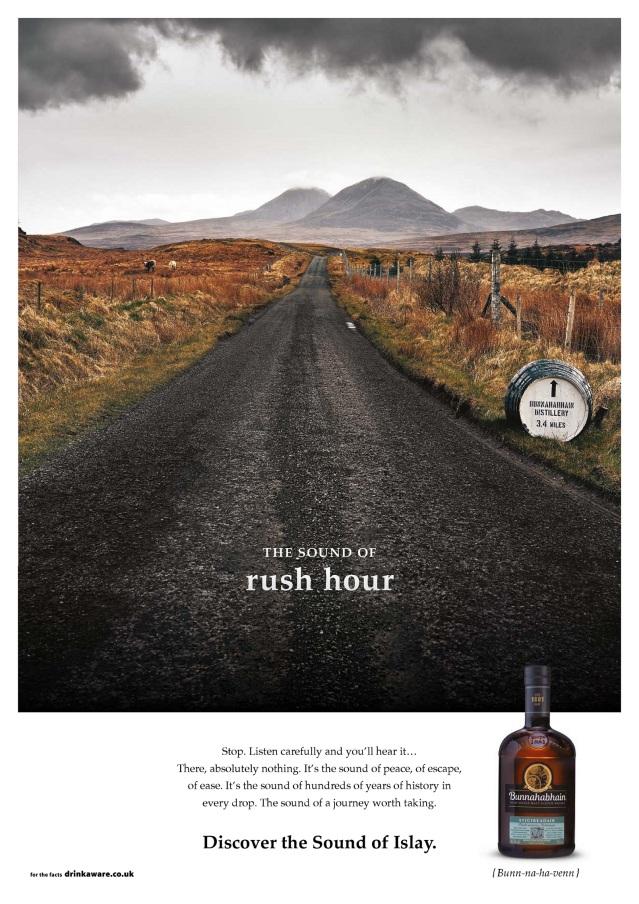 Bunnahabhain unveils the Sound Of Islay_Rush Hour ad HR