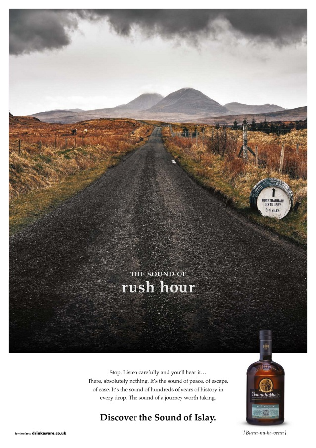 Bunnahabhain unveils the Sound Of Islay_Rush Hour ad HR