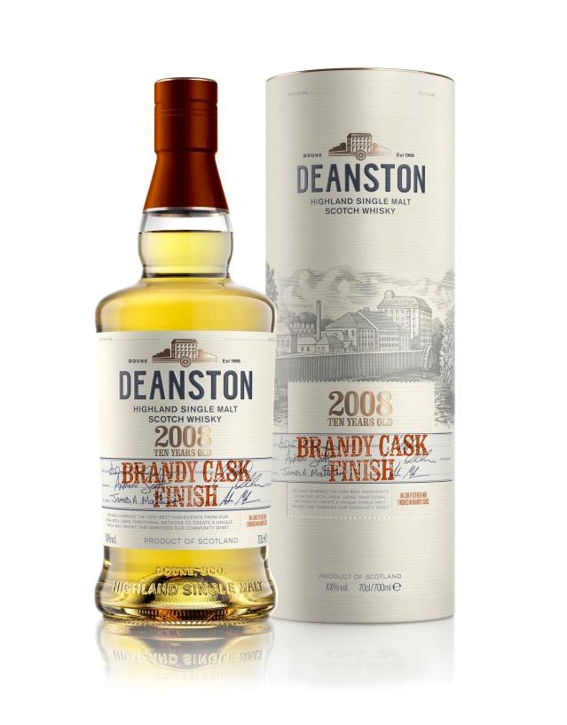 Deanston 2008 Brandy Cask Finish_Limited Release