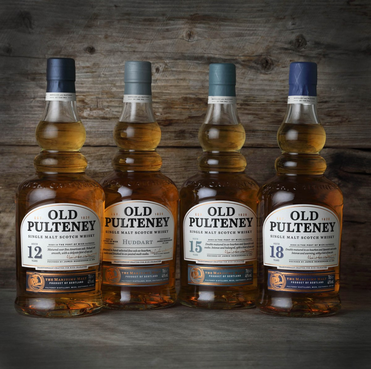 Old Pulteney unveils new collection to signal brand evolution