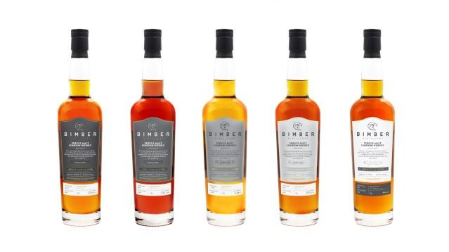 Bimber-Whisky-Bottles