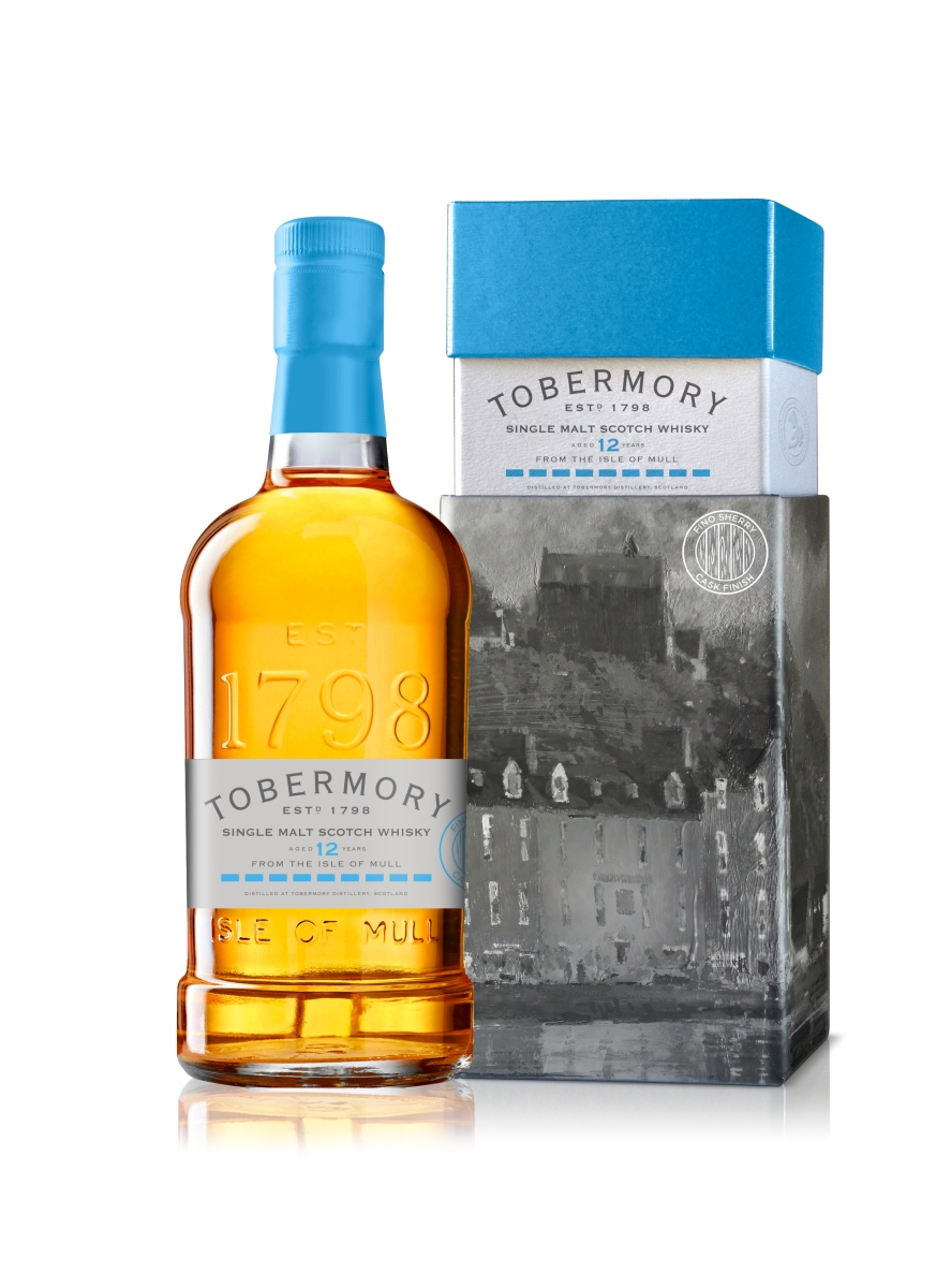 Tobermory 12 Years Old 2005 Fino Cask Finish (55.1%, OB, 1710 Bottles, 2018)