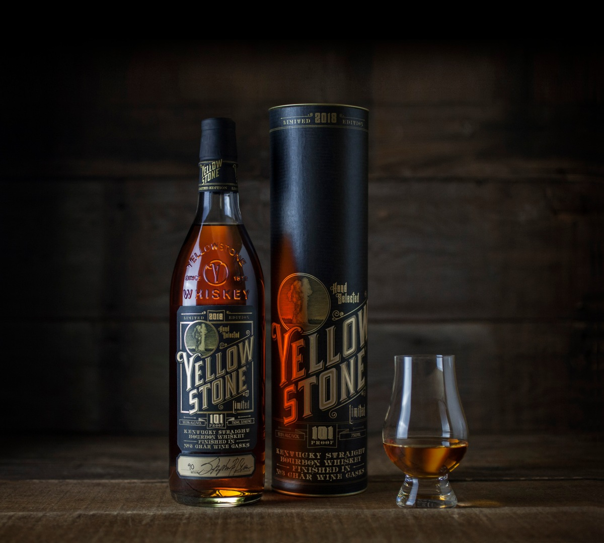 Yellowstone® Limited Edition Kentucky Straight Bourbon 2018 Launches this Month