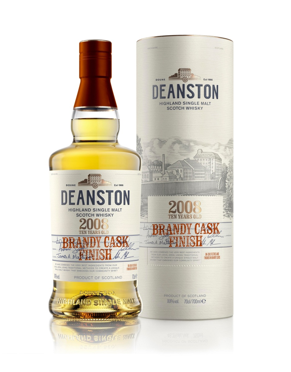 Deanston 9 Years Old 2008 Brandy Cask Finish (56.4%, OB, 2018)