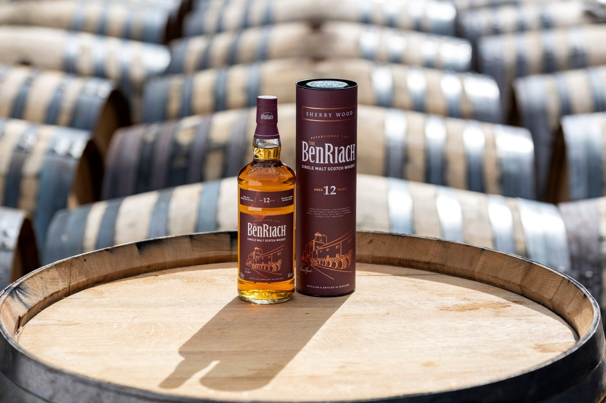 BenRiach reintroduces Sherry Wood Aged 12 Years to core range