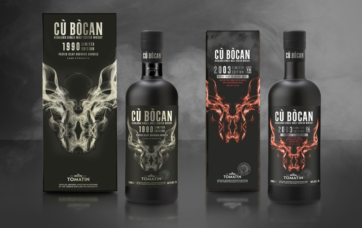 Limited Edition 1990 and 2003 vintages Cù Bòcan released