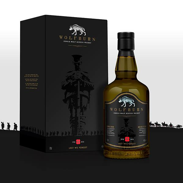 The Carnegie Whisky Cellars and Wolfburn Distillery announce limited edition Poppyscotland whisky