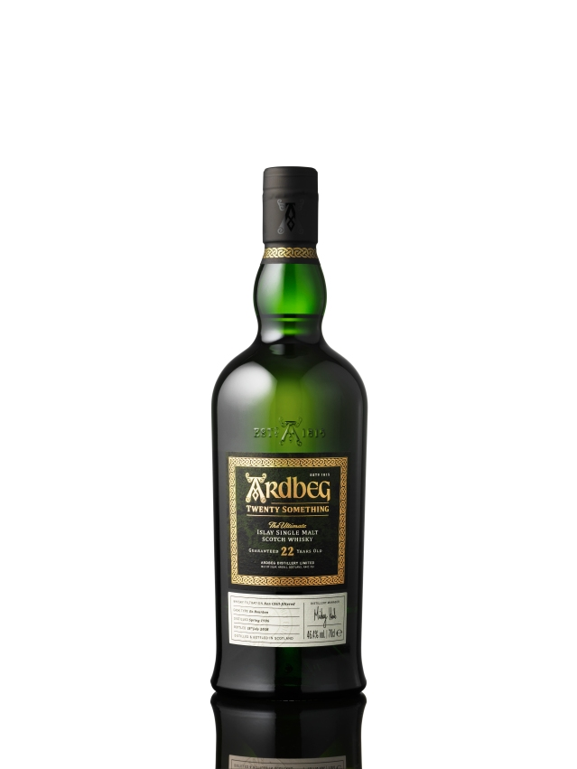 Ardbeg Twenty Something white background