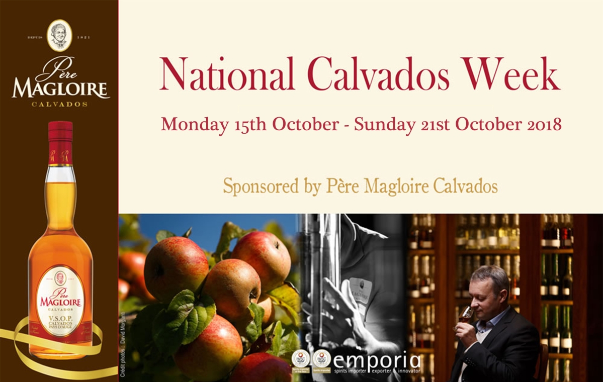 National Calvados Week October 15th-23rd 2018