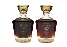 Longmorn 1961 Decanters 508 and 512