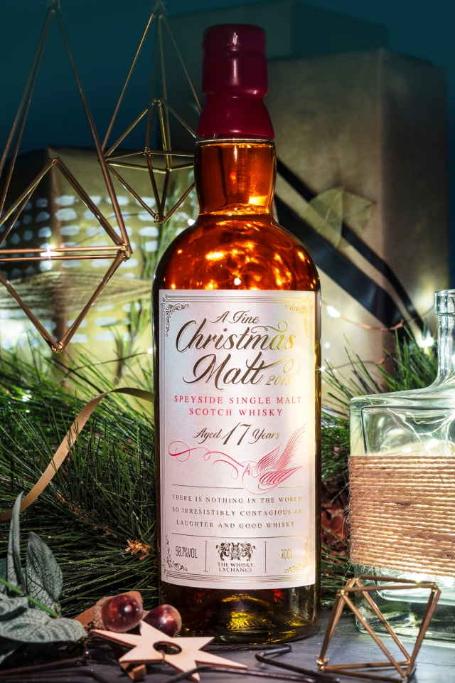 A Fine Christmas Malt 17 Years Old (58.7%, The Whisky Exchange, 1800 Bottles, 2018)