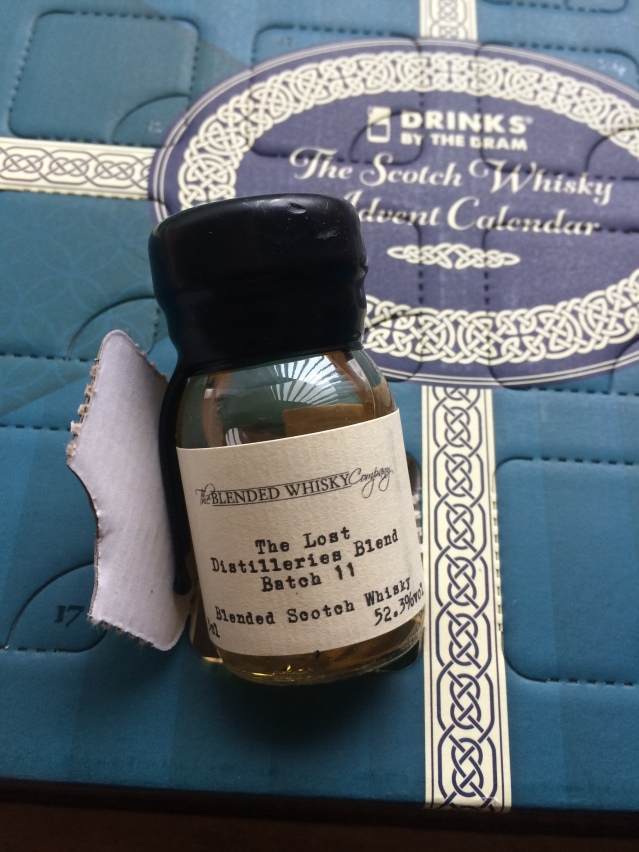 #whiskyadvent Day 1 the-lost-distilleries-blend-whisky