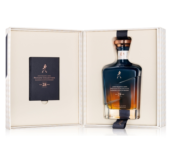 John Walker & Sons Private Collection 28 Year Old Midnight Blend 2