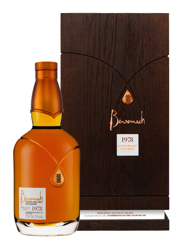 1978 cask 2608 bottle & box