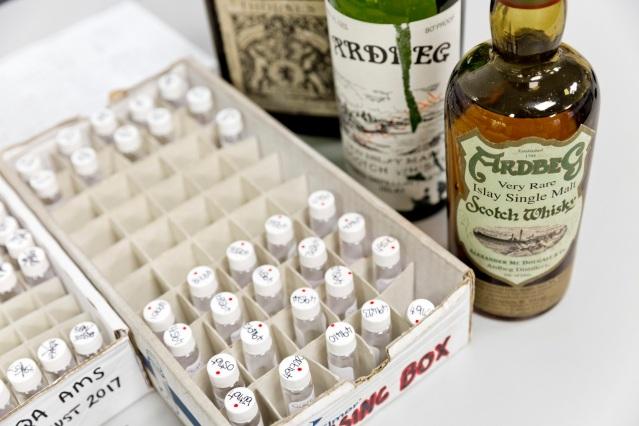 2 - samples of rare whisky for testing