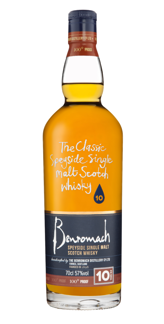 benromach 10 years old 100 proof