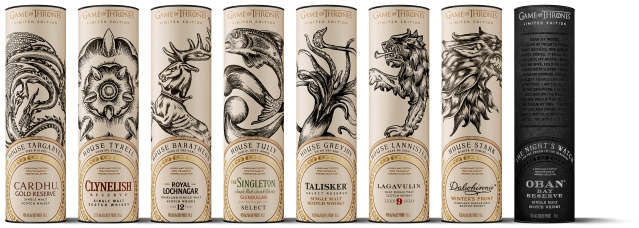 game of thrones single malt scotch whisky collection_package design[2][1]