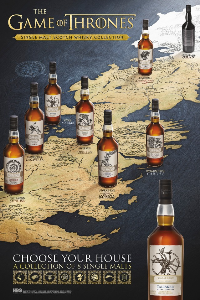 game of thrones single malt scotch whisky collection_westeros map horizontal[1][1]