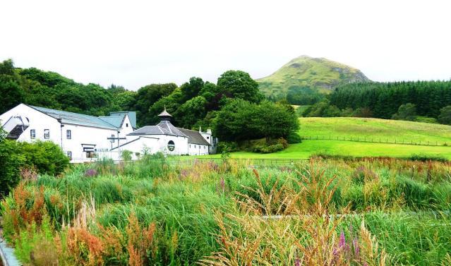 glengoyne distillery wetlands