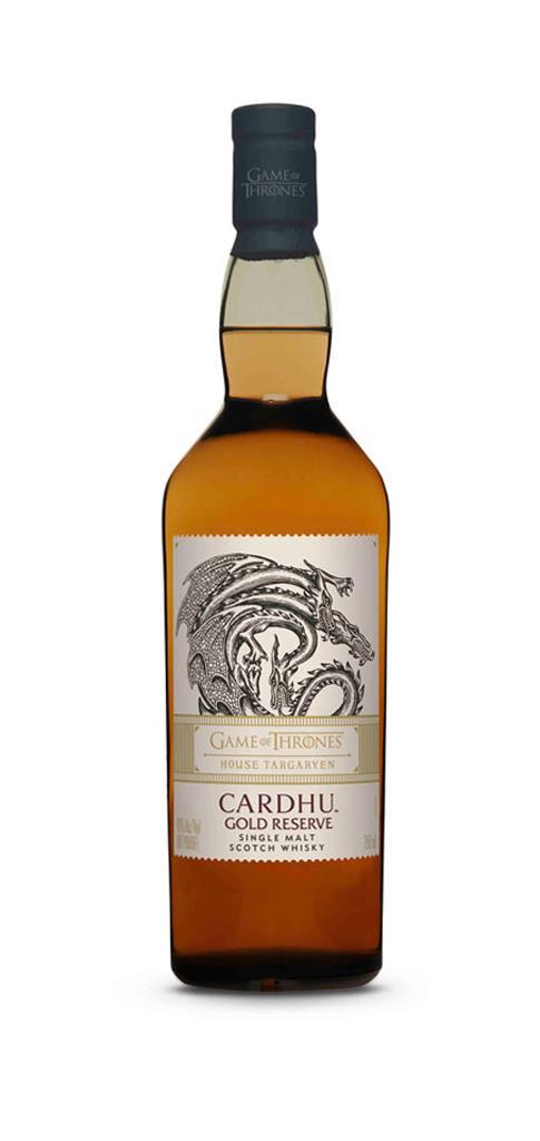 House Targaryen Cardhu Gold Reserve (40%, OB, 2019)