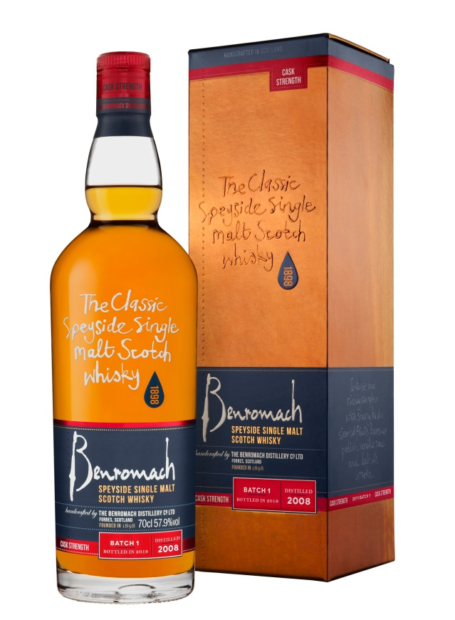 Benromach CASK STRENGTH 2008_BATCH1 Btle & box hi res