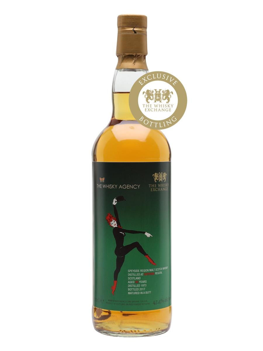 Speyside Region Blend 43 Years Old 1973 (47.4%, Whisky Agency, 568 Bottles, 2017)