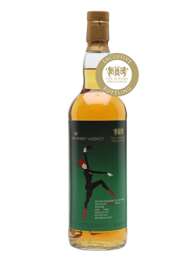 Speyside region 1973 blended malt scotch whisky bottled for the whisky exchange
