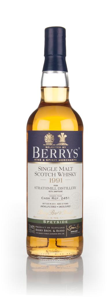 strathmill-22-year-old-1991-cask-2451-berry-bros-and-rudd-whisky