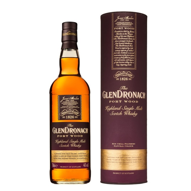 The GlenDronach 10 Year Old Port Wood